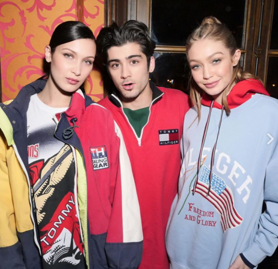 Bella, Gigi ve Zayn
