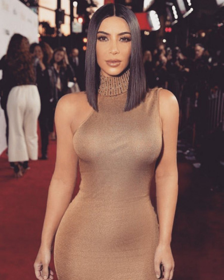 Kim Kardashian Versace Red Carpet