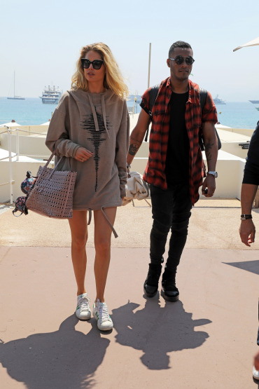 Model Doutzen Kroes, Sunnery James