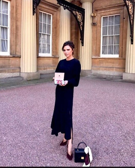 Victoria Beckham Prens Charles Buckhingam