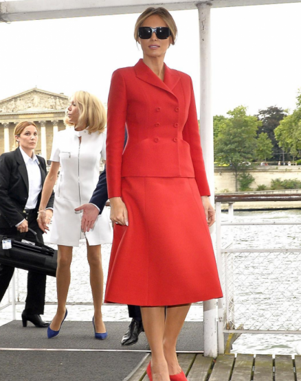 Dior, Melania Trump