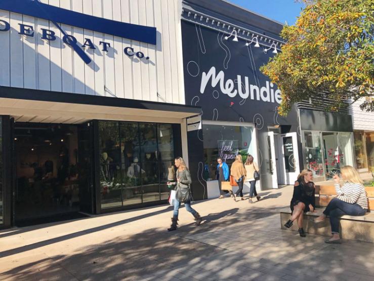 silikon vadisi, Stanford Shopping Center, alışveriş merkezi, alışveriş