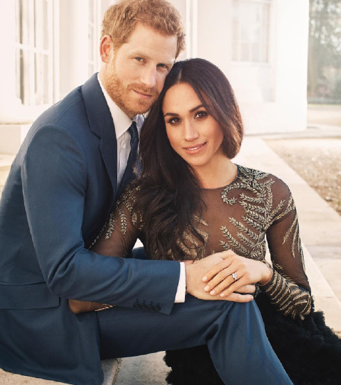 Prens Harry & Meghan Markle