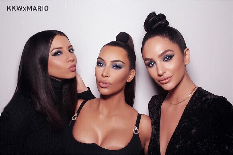 kim-kardashian-kkw-beauty-make-up-mario-eyeshadow-blue-libra