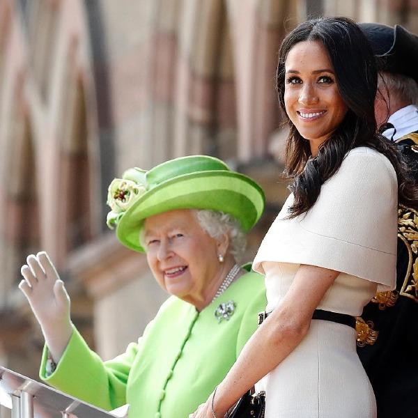 kraliçe elizabeth, meghan markle