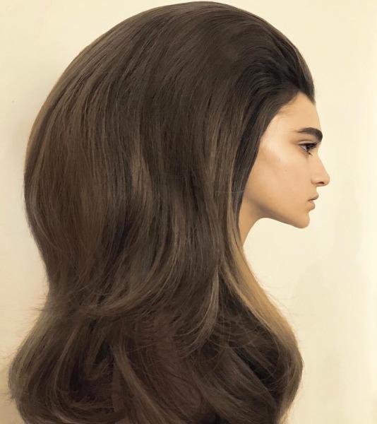 valentino-paris-couture-week-hair-big-fashion-beauty-kaia-gerber