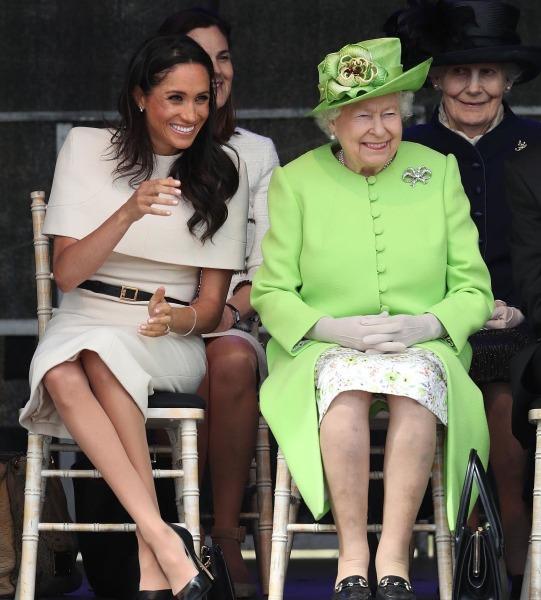 meghan markle, kraliçe elizabeth