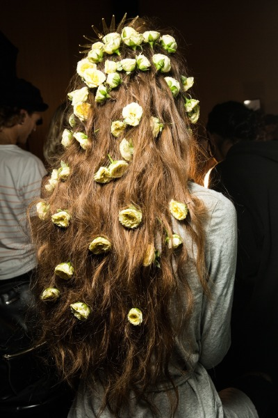 rodarte-new-york-fashion-week-beauty-hair-make-up-floral-crown