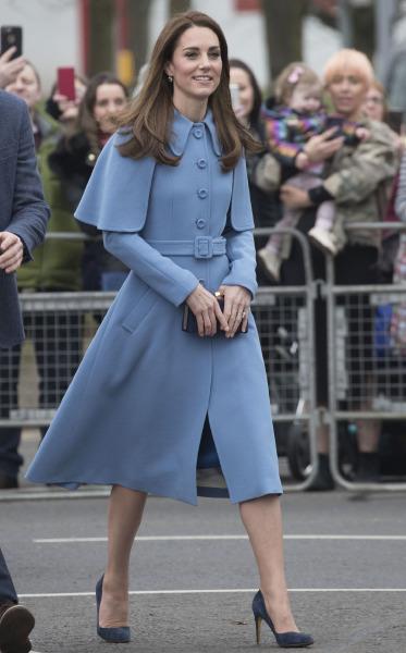 70afeaa167a54 Kate Middleton'ın Mulberry Stili mi? Missoni Görünümü mü?