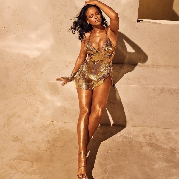 rihanna-fenty-beauty-body-lava-make-up-brown-sugar-who-needs-clothes-gold-trophy-wife