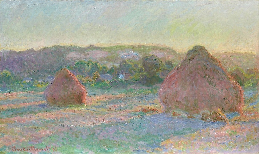 Claude Monet, Mueles