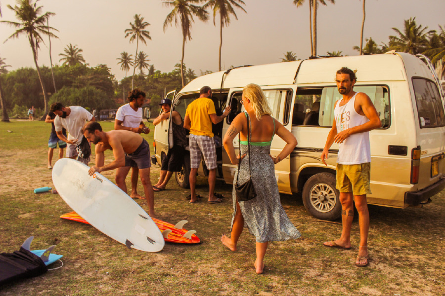 Deniz Toprak, Mellow Hostel, Mellow Hostel Sri Lanka