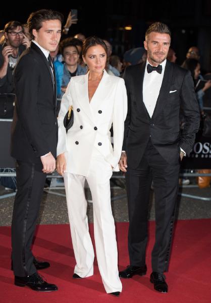 Victoria Beckham, David Beckham, Brooklyn Beckham