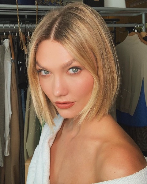 karlie-kloss-beauty-hair-cut-bob-lob-paris-fashion-week